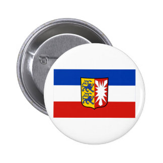 Schleswig-Holstein Flag 2 Inch Round Button