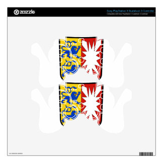 Schleswig Holstein (Germany)  Coat of Arms PS3 Controller Skin