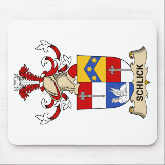 Schlick Family Crest Mouse Pad
