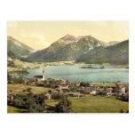 Schliersee, Bavaria, Germany classic Photochrom Postcards