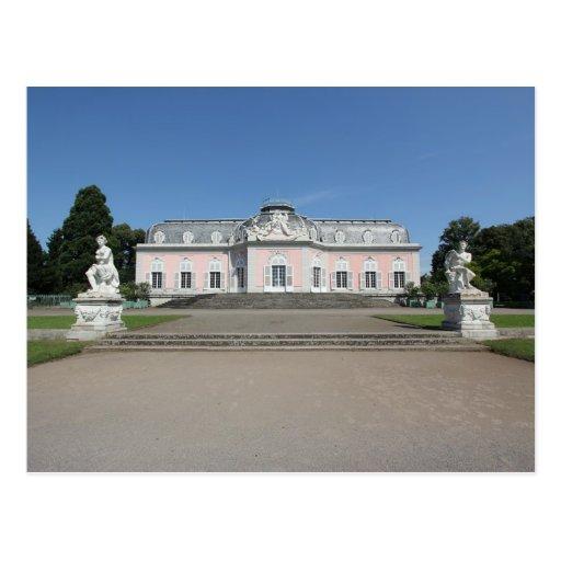 Schloss Benrath - opinión del primer Postal