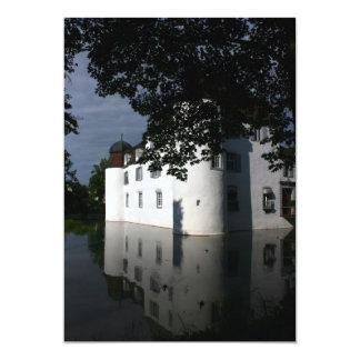 "Schloss Bottmingen, Basel, Switzerland 5"" X 7"" Invitation Card"