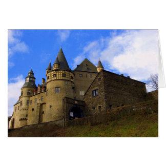 Schloss Buerresheim Greeting Card