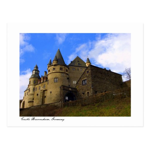 Schloss Buerresheim, castillo Buerresheim Postal