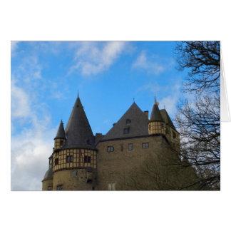 Schloss Buerresheim, Castle Buerresheim Greeting Card