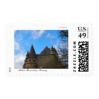 Schloss Buerresheim, Castle Buerresheim Stamps