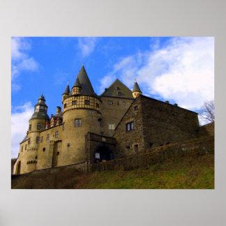 Schloss Buerresheim, Mayen, Rheinland Pfalz, Eifel Poster