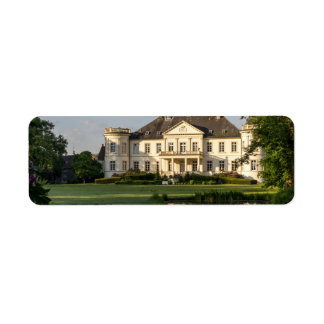 Schloss Buldern, Dülmen, Rhine-Westphalia, Germany Label