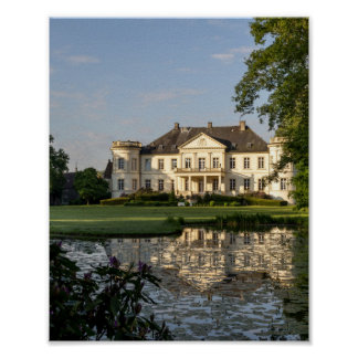Schloss Buldern, Dülmen, Rin-Westfalia, Alemania Póster