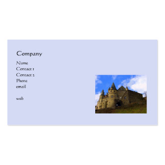 Schloss / Castle Buerresheim Germany Double-Sided Standard Business Cards (Pack Of 100)