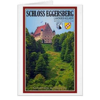 Schloß Eggersberg Tarjeta De Felicitación
