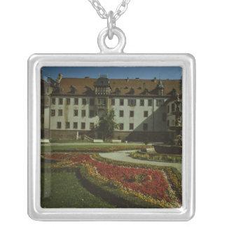 Schloss Elisabethenburg en Meiningen Colgante Cuadrado