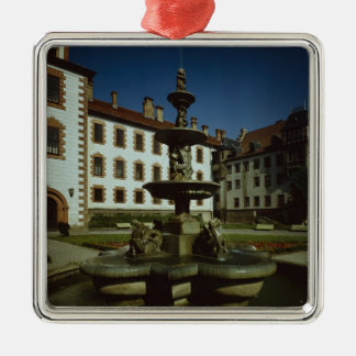 Schloss Elisabethenburg, Meiningen Metal Ornament