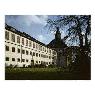 Schloss Friedenstein, Gotha, built in 1643-54 Postcard