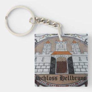 Schloss Hellbrunn - Salzburg, Austria Double-Sided Square Acrylic Keychain