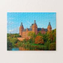 Schloss Johannisburg Germany. Jigsaw Puzzle