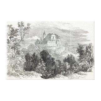Schloss Kalenberg Canvas Print