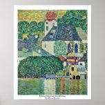 Schloss Kammer Am Attersee By Klimt Gustav Poster