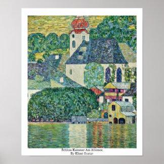 Schloss Kammer Am Attersee By Klimt Gustav Print