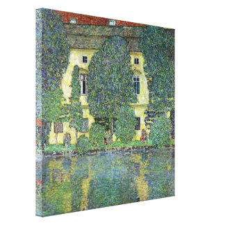 Schloss Kammer on the Attersee III By Gustav Klimt Canvas Print