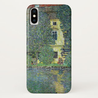 Schloss Kammer on the Attersee III By Gustav Klimt iPhone X Case