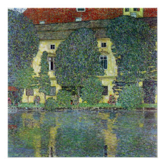 Schloss Kammer on the Attersee III By Gustav Klimt Poster