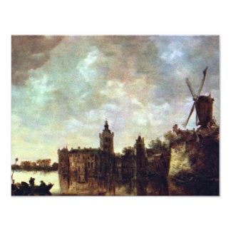 Schloß Montfort By Goyen Jan Van (Best Quality) Custom Invitations