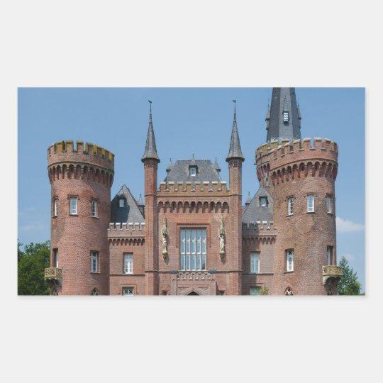 Schloss Moyland  Castle Rectangular Sticker