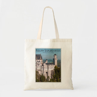 Schloss Neuschwanstein from Marienbrücke - German Budget Tote Bag