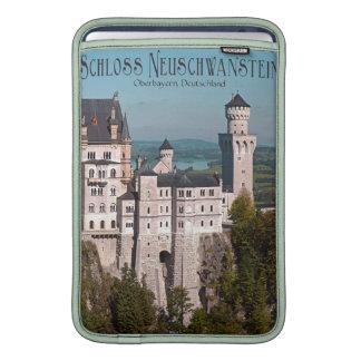 Schloss Neuschwanstein from Marienbrücke - German MacBook Sleeves