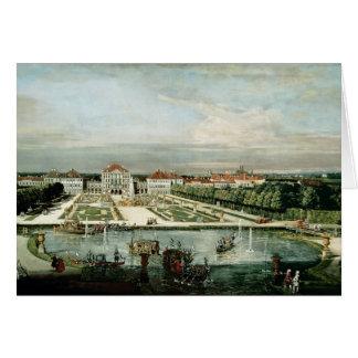 Schloss Nymphenburg, 1761 Card