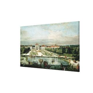 Schloss Nymphenburg, 1761 Impresión En Lona