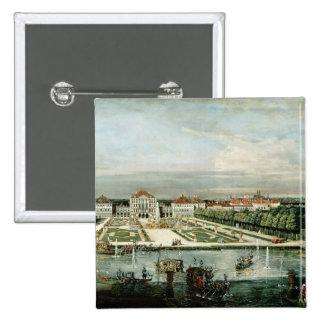 Schloss Nymphenburg, 1761 Pin Cuadrado