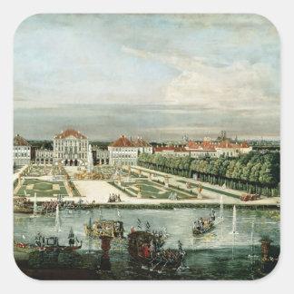 Schloss Nymphenburg, 1761 Square Sticker