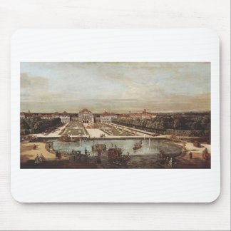 Schloss Nymphenburg by Bernardo Bellotto Mouse Pad