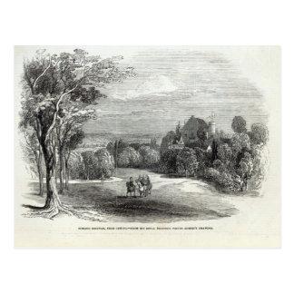 Schloss Rosenau cerca de Coburgo Postal