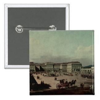 Schloss Schonbrunn, 1759-60 Pin Cuadrado