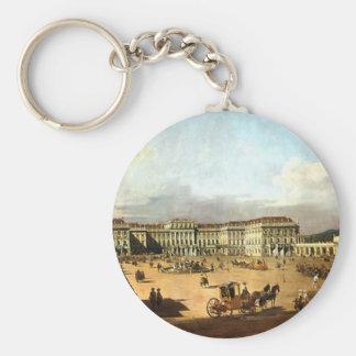 Schloss Schonbrunn de Bernardo Bellotto Llavero Redondo Tipo Pin