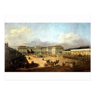 Schloss Schonbrunn de Bernardo Bellotto Postal