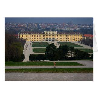 Schloss Schönbrunn Tarjeta De Felicitación