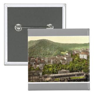 Schlossberg, Carlsbad, Bohemia, Austro-Hungary rar Buttons