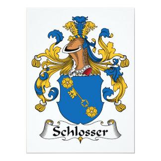 Schlosser Family Crest Card
