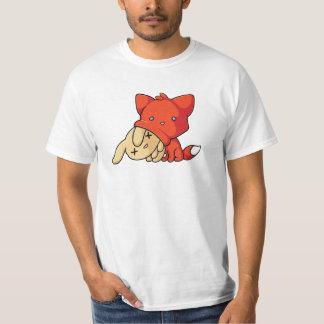 SCHLUP Fox Eating Rabbit T-Shirt