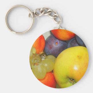 Schlüsselanhänger Obstmotiv Llavero