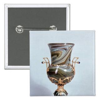 Schmelzglas by Salviati and Co. of Venice Pinback Button