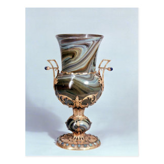 Schmelzglas by Salviati and Co. of Venice Postcard