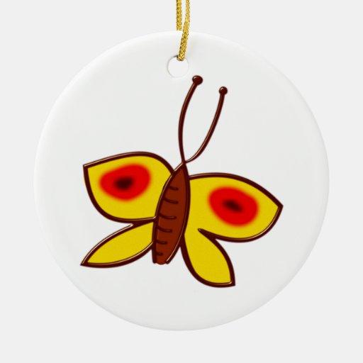 Schmetterling butterfly weinachtsornamente