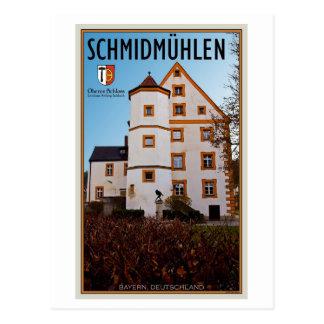 Schmidmûhlen - Oberes Schloß (Rathaus) Postcard