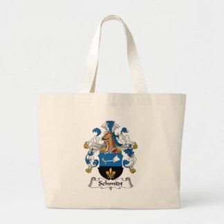 Schmidt Family Crest Tote Bags