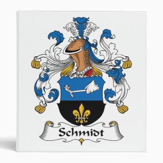 Schmidt Family Crest Binder